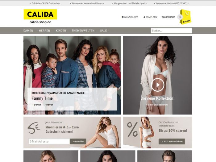 Calida.com
